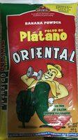 Polvo de plátano - Product