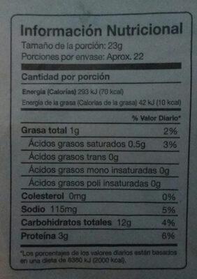 buen pan - Nutrition facts - es