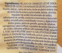 Alfajor - Ingrediënten