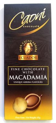 Fine Chocolate with Macadamia - Produit