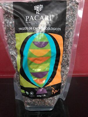 Trozos de cacao ecológicos - Product