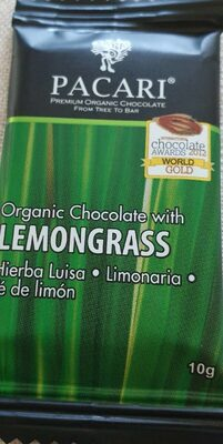 Chocolate lemongrass - Product
