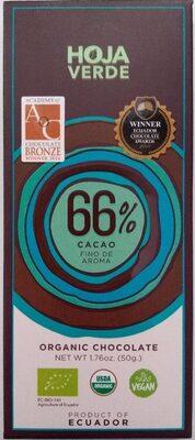 Chocolate 66% cacao fino de aroma - Producto - es