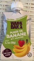 Purée de banane et fraise - Produit - fr