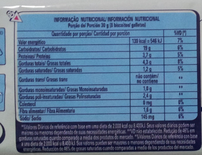 Nestlé Nesfit Integral - Nutrition facts
