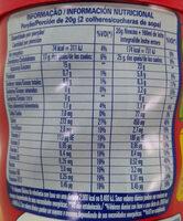 Nescau - Informação nutricional - pt