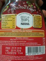 Nescafe Classic - Ingredientes - fr