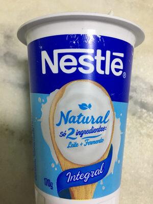 Iogurte natural integral - Produto - fr