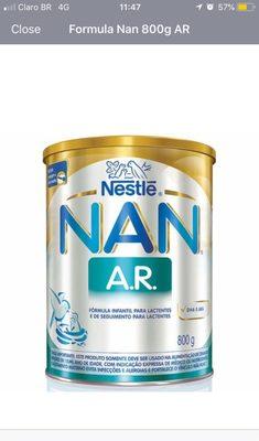Formula Nan 800g AR - Product - pt