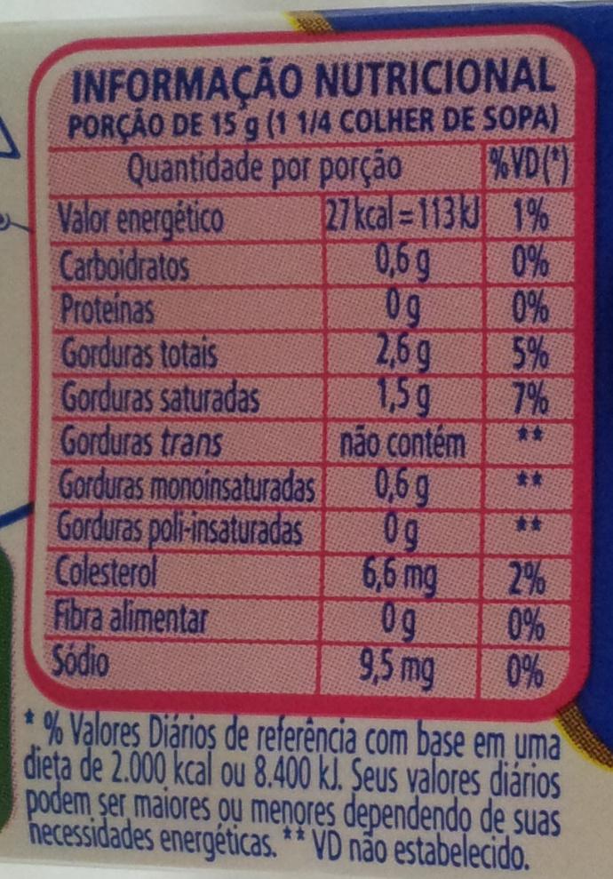 Nestlé Creme De Leite Leve - Nutrition facts