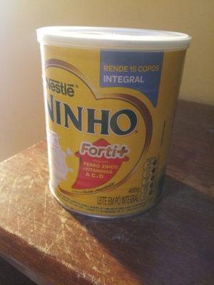 Leite integral em pó Ninho - Produto