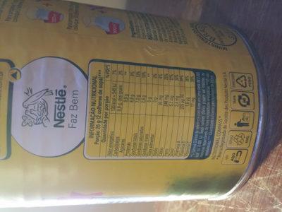 Leite integral em pó Ninho - Informação nutricional