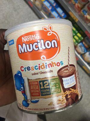 Cereal Mucilon 250g Crescidinho Chocolate - Product