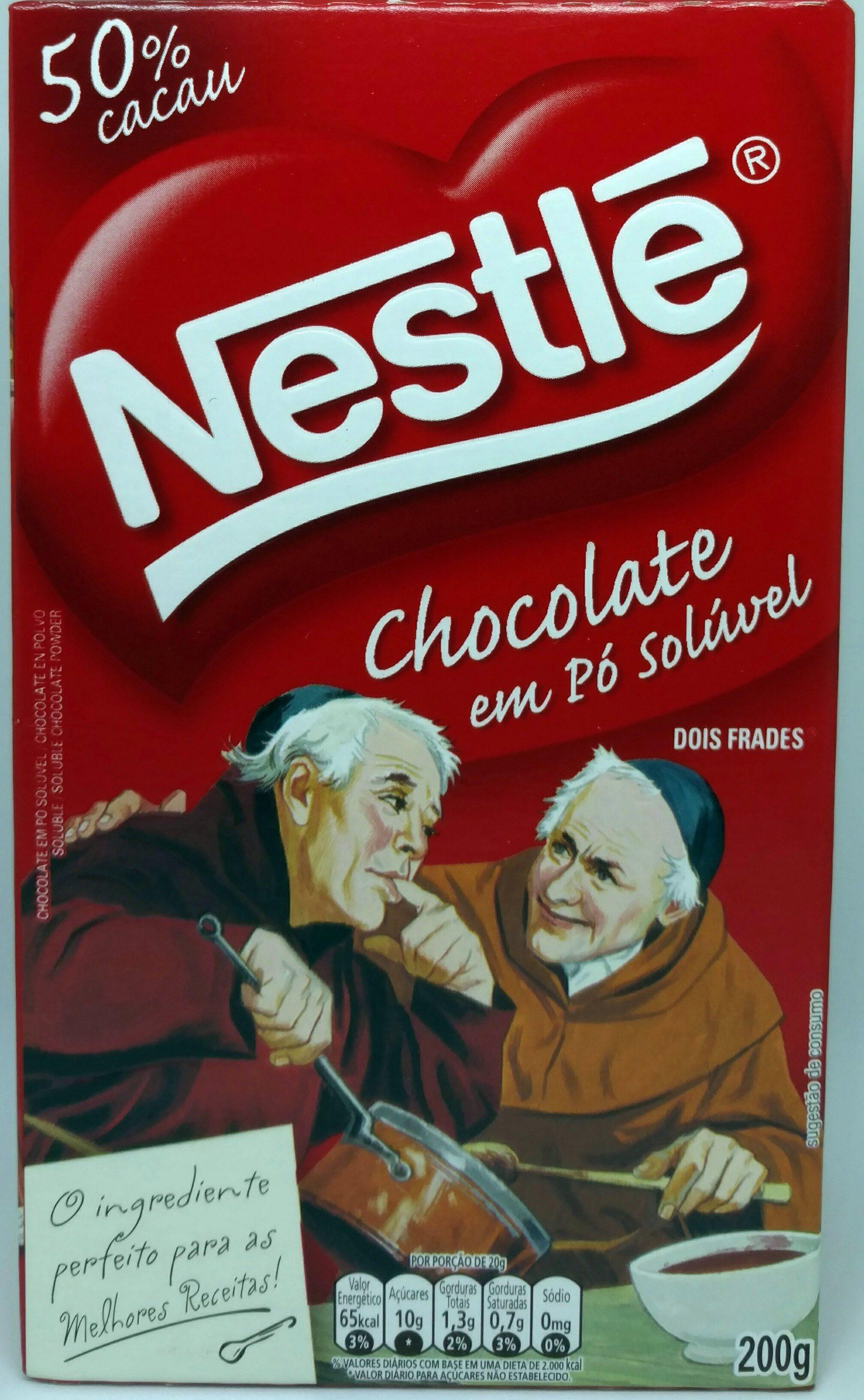Chocolate em pó solúvel Dois frades - Product