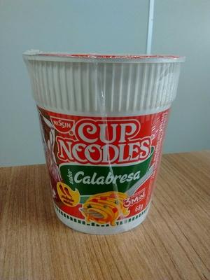 Cup Noodles Calabresa - Produto - pt