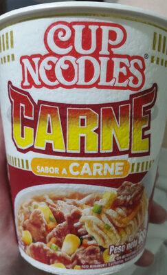 The Original Cup Noodles Sabor Carne - Produit - es