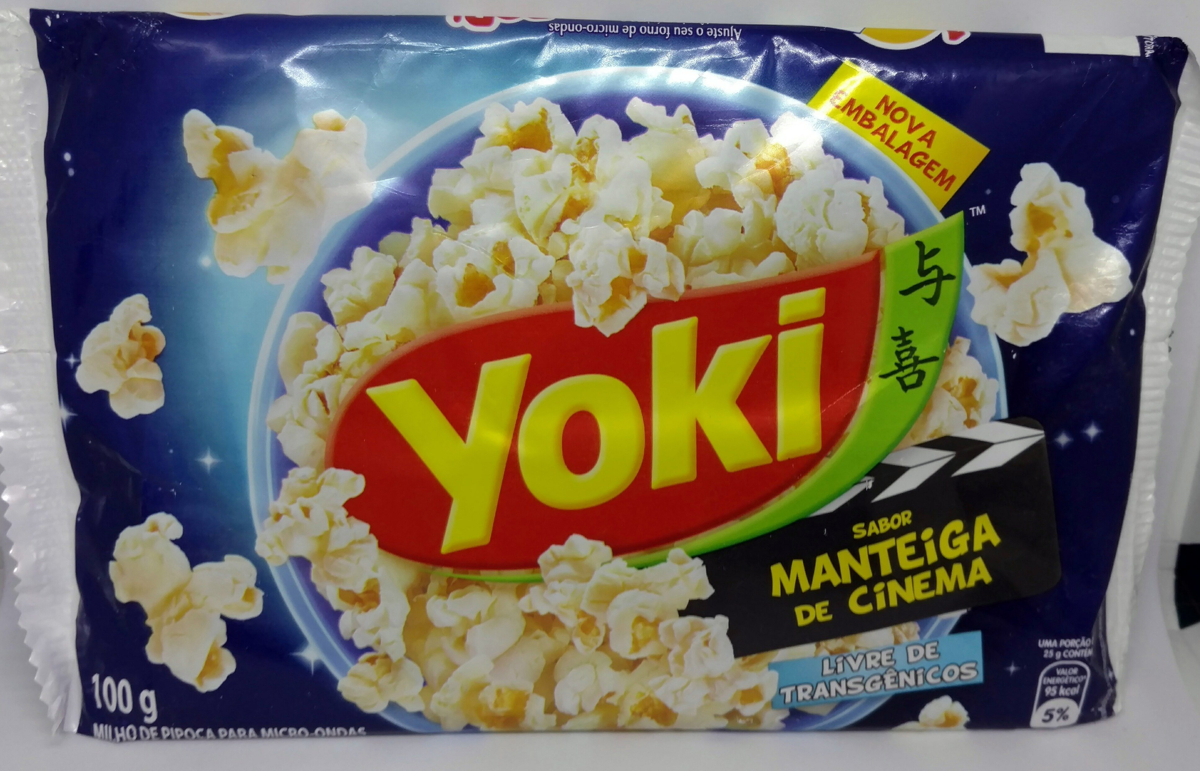 Yoki sabor manteiga de cinema - Product