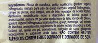 Pão de Queijo - Ingredientes - pt