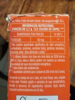 Cha Mate Leao 100G - Nutrition facts