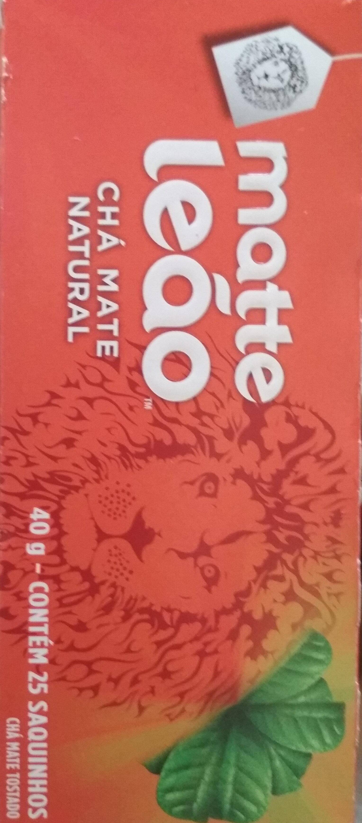 Leao Matte Tea Natural 25G - Produto - pt
