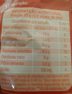 Carrefour Batata Palha - Informação nutricional - pt