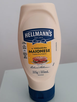 Maionese Hellmann's - Produto