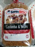 Pão Integral com Castanha e Nozes - Product - pt