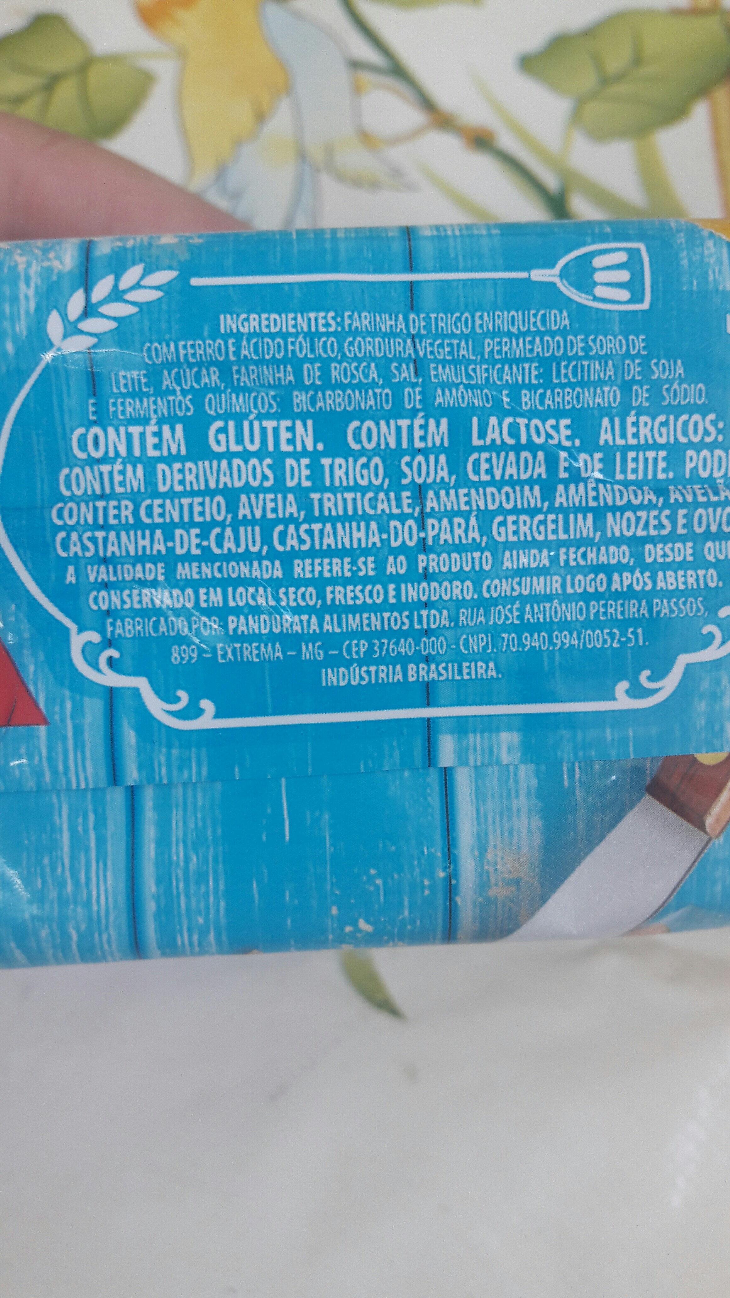água e sal - Ingredientes - pt