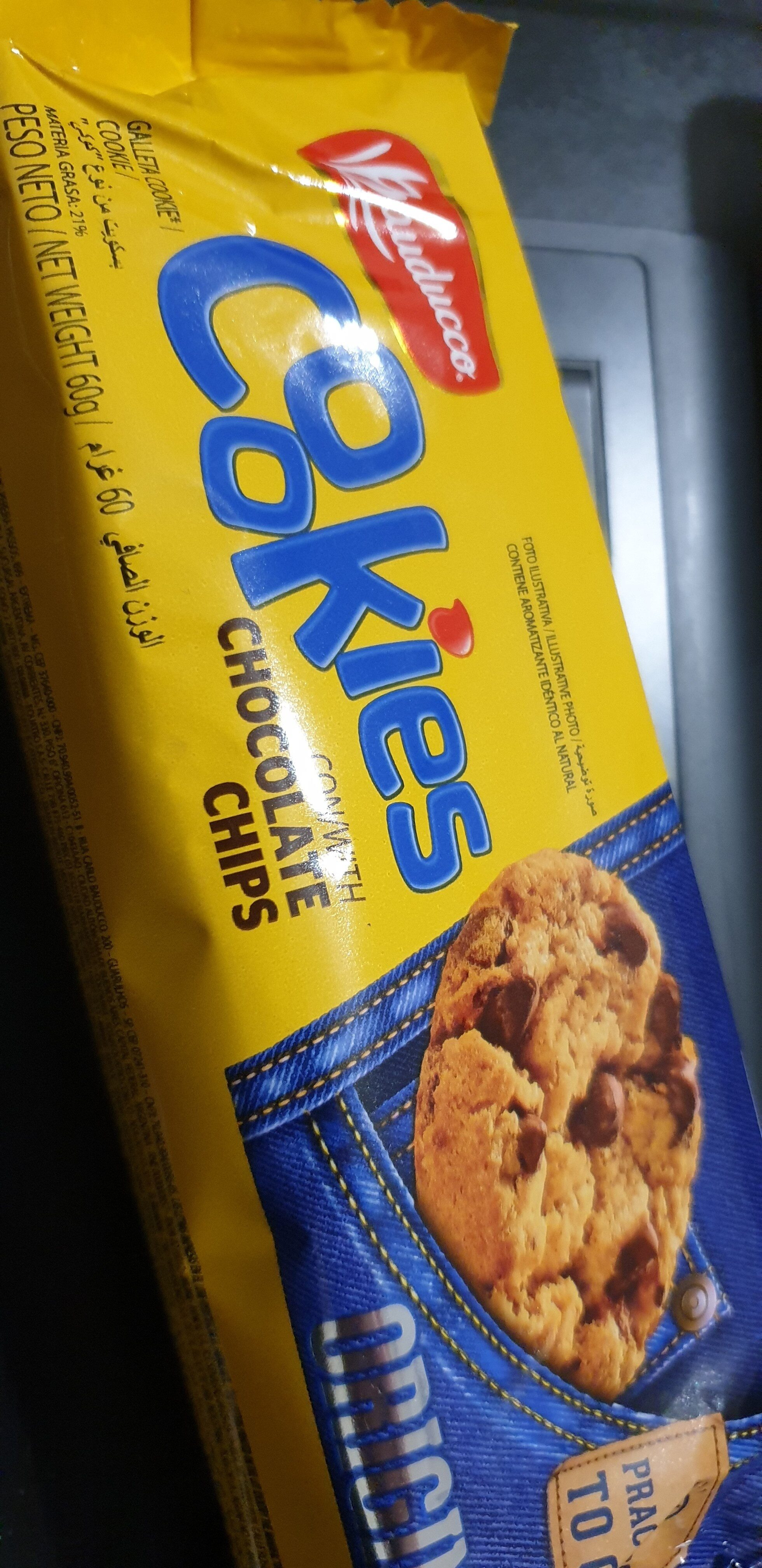 Bauducco Cookies with Chocolate Chips - Product - en
