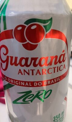 Antarctica Guarana Soda (diet)- Zero - Nutrition facts - pt