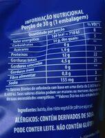 Ruffles - PepsiCo testa em animais - Voedingswaarden - pt