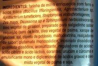 Cheetos onda sabor requeijão - Ingredients