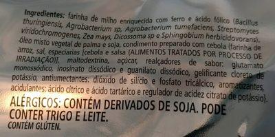 Cebolitos - Ingredients