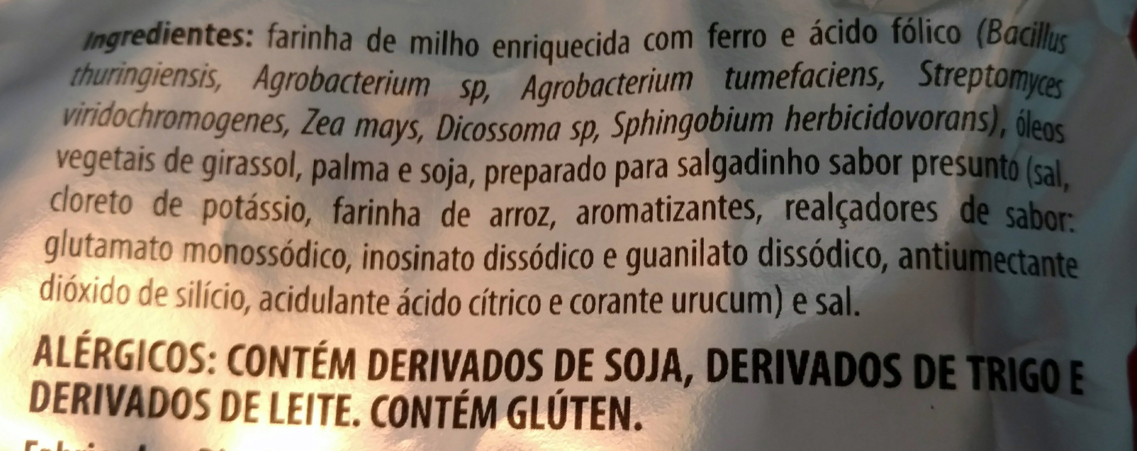 Fandangos sabor presunto - Ingredients