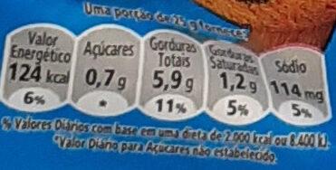 Cheetos Assado - Informação nutricional - pt