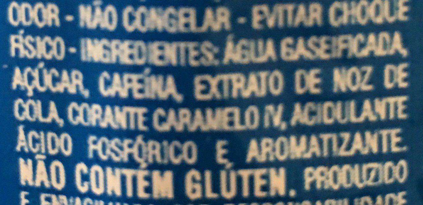 Pepsi bresil - Ingrediënten