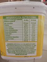 Qualy cremosa - Ingredients