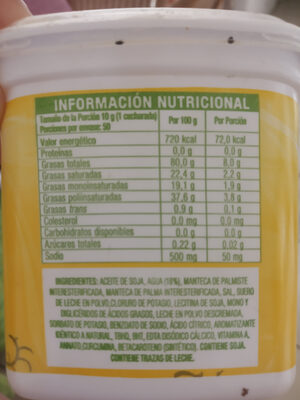 Qualy cremosa - Nutrition facts