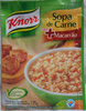 knorr Sopa de Carne com + Macarrão - Produto