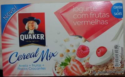 Quaker Cereal Mix Iogurte com Frutas Vermelhas - Product