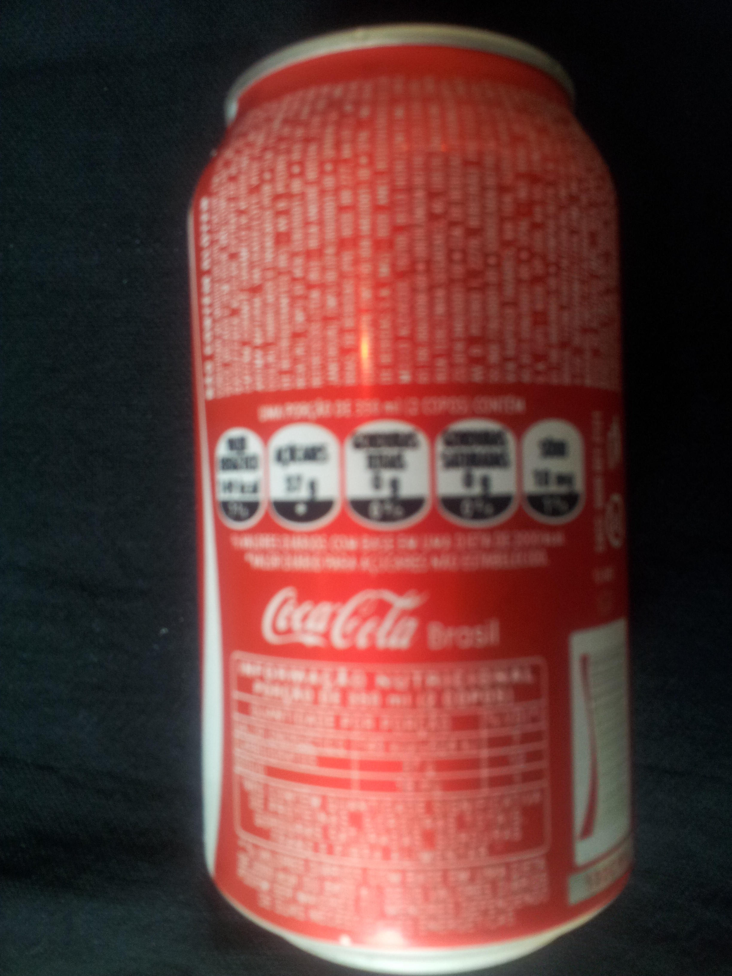 Coca-Cola - Ingredientes - pt