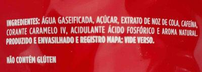 coca-cola - Ingredientes - en