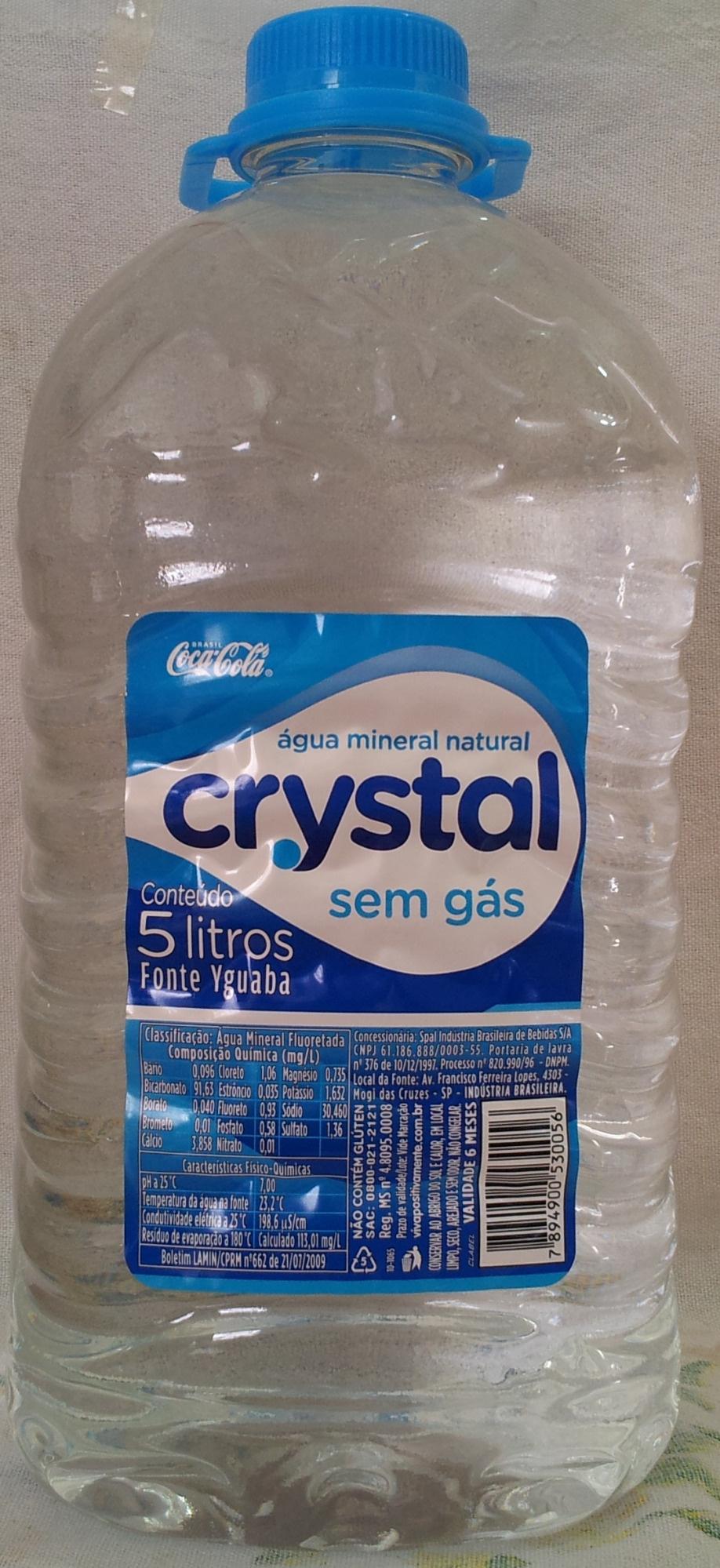 Água Mineral Natural Crystal Sem Gás - Product