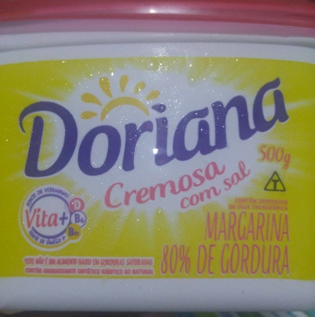 Doriana Cremosa com sal - Produto - pt
