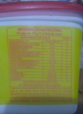 Doriana Cremosa com sal - Informação nutricional - pt