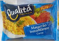 Qualitá Macarrão Instantâneo Carne - Produto - pt