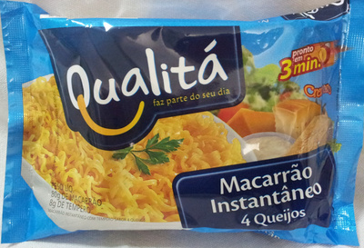 Qualitá Macarrão Instantâneo 4 Queijos - Product