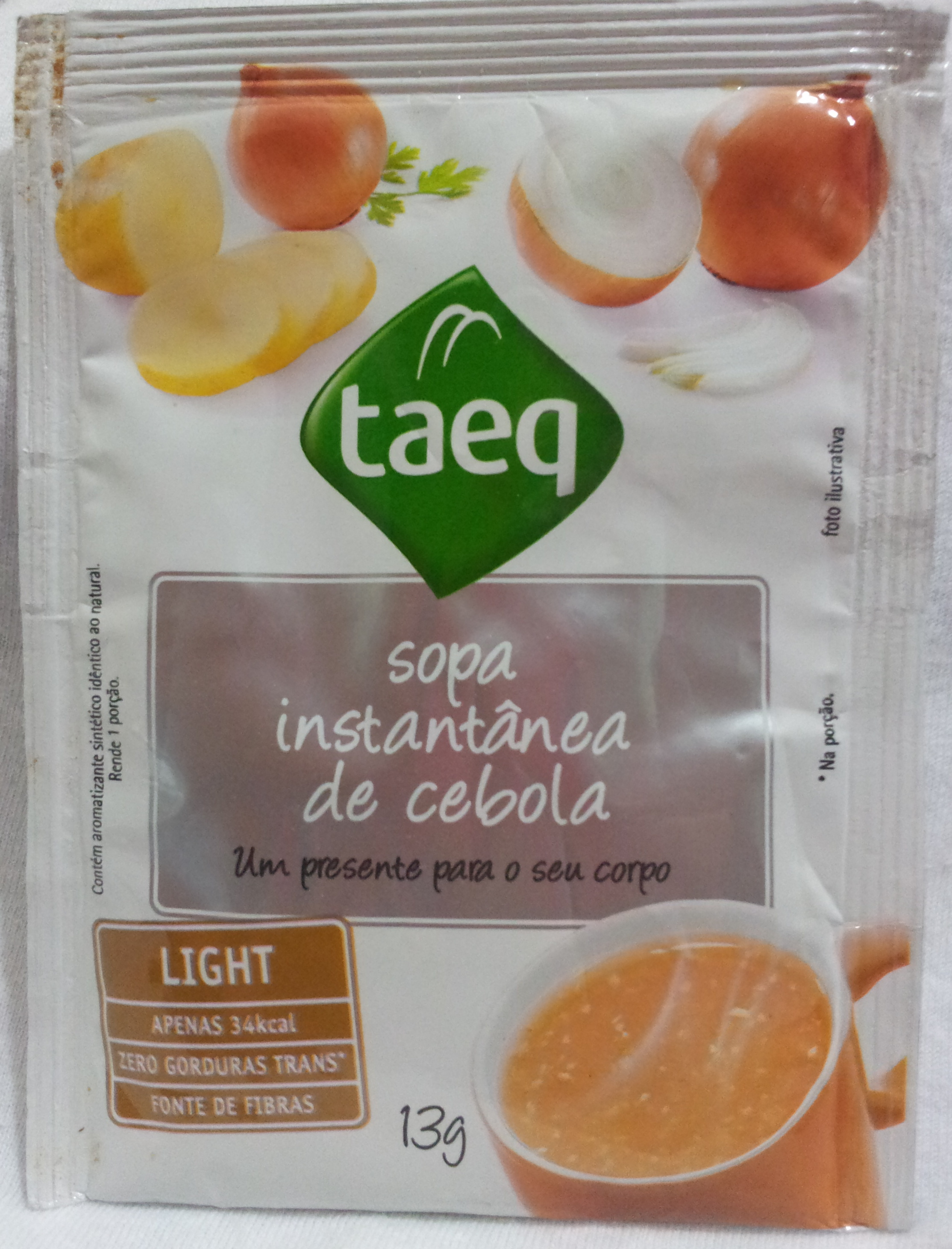 taeq Sopa Instantânea de Cebola - Produto - pt