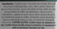 Figo, castanha-do-para e cacau com chocolate meio amargo - Ingredients