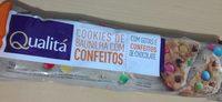 Cookies de Baunilha com Confeitos Qualitá - Product